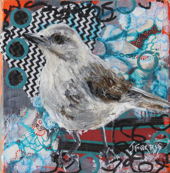 "Print Of ""Zig Zag"" Art | Jennifer Ferris"
