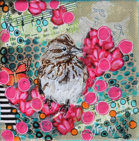 "Print Of ""The Joy Of The Lord Is My Strength"" Art | Jennifer Ferris"