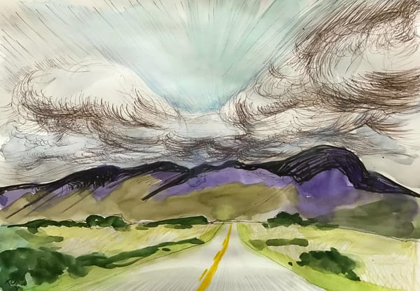 On The Road Again Art | Trine Churchill