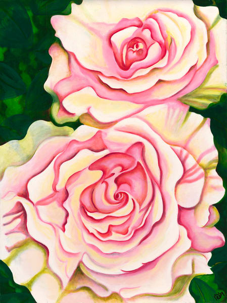 Alisa's Monet Roses Art | Digital Arts Studio / Fine Art Marketplace