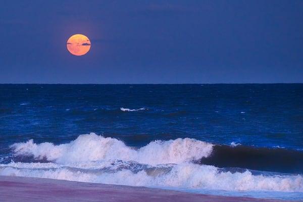 Moon Rise Photography Art   nancyney