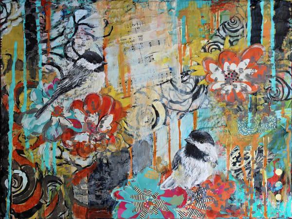 "Print Of ""A Birds Eye View"" Art   Jennifer Ferris"