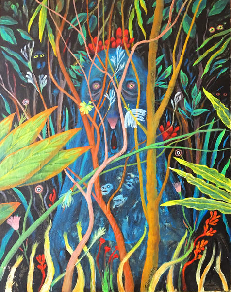 Jungle Blues Art | Scheihagen Art