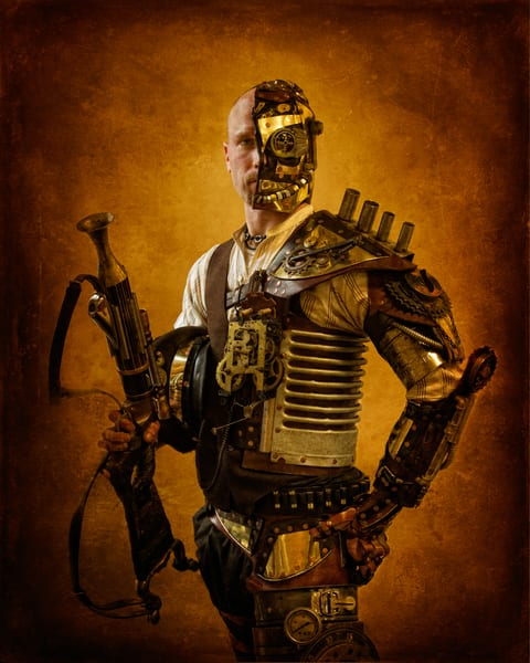 Steampunk Soldier Photography Art | Steven Rosen Photography