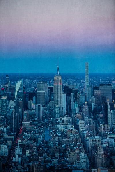 Sunset In The City Photography Art | Steven Rosen Photography