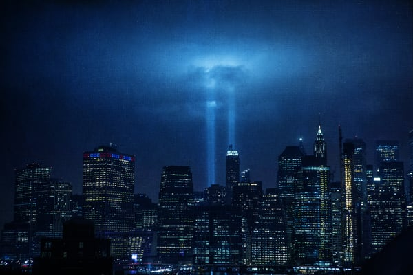 9/11 Lights Photography Art | Steven Rosen Photography