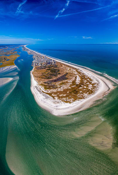 Serenity Point Topsail Island : Print Sale | Aerial View