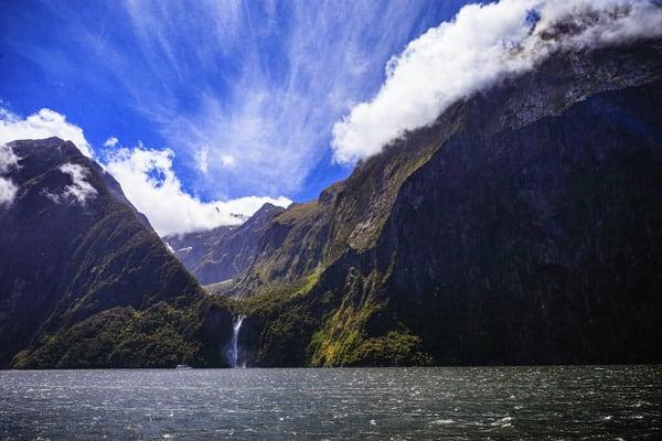 Milford Sound, landscape, New Zealand