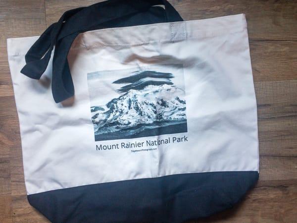 Mount Rainier Tote Bag   Troy Mason Photography