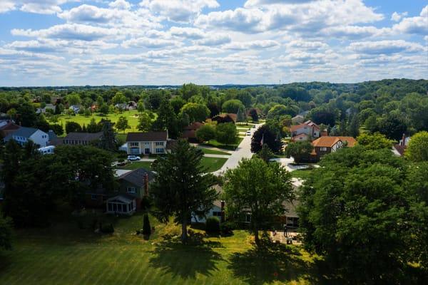 Drone Neighbor Hood 2 Art | DocSaundersPhotography