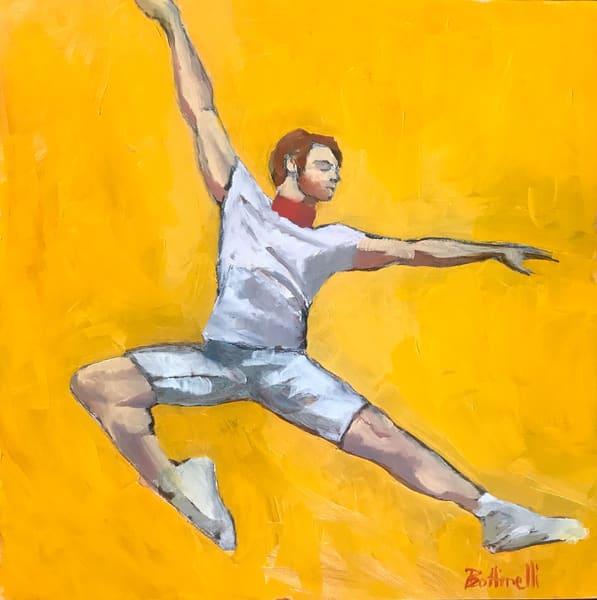 The Dancer Ii   Original Art | Bottinelli Fine Art