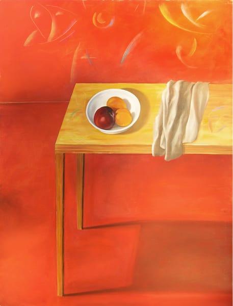 Table With Fruit Art   Scheihagen Art