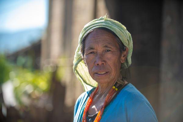 Naga Woman Photography Art   Sudha Photography