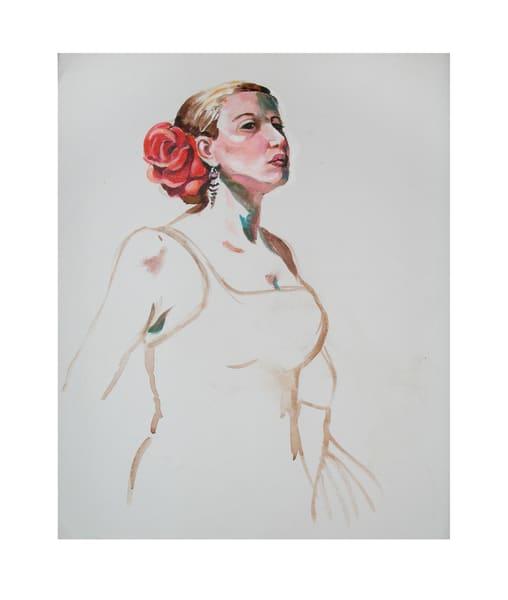 Senorita With Rose Art | Scheihagen Art