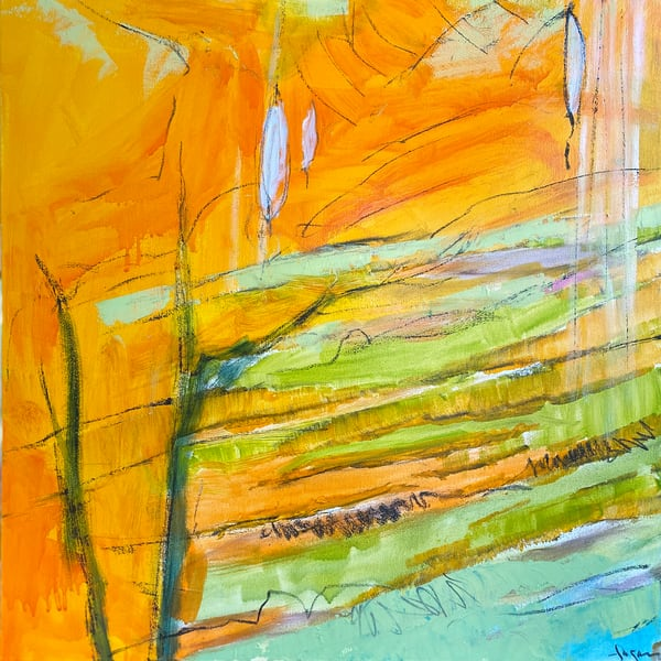 The Crossing 5 Canvas Edition by Dorothy Fagan