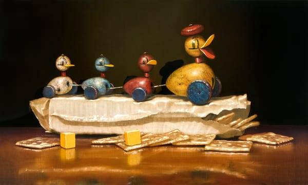 Quackers And Crackers Art | Richard Hall Fine Art