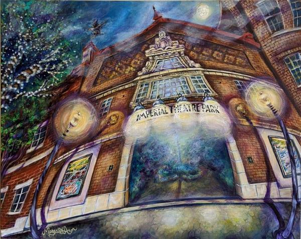 Margaret Ann Lambert - surrealism - Imperial Park Theatre - Hidden Jewel