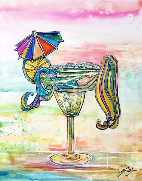 Mermaid Salty Margarita  Art | jenartworkgallery