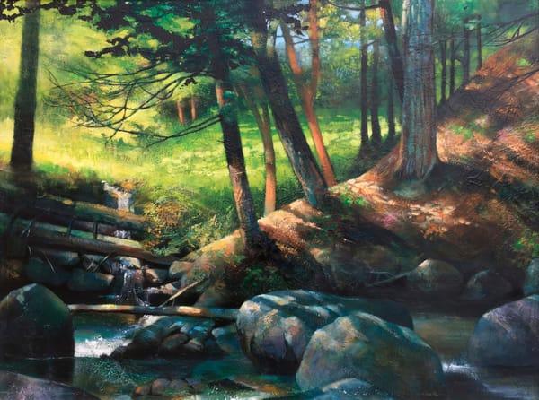 Shaded Stream Art | MANTHA DESIGN