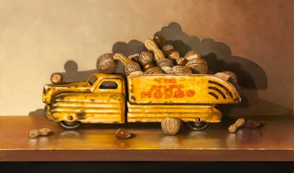 Driving Me Nuts Art | Richard Hall Fine Art