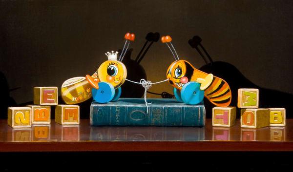 Too Bee Or Knot To Bee Art | Richard Hall Fine Art