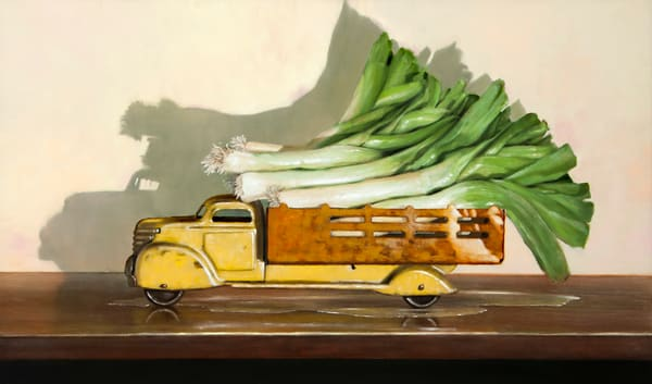 Old Truck With Leaks Art | Richard Hall Fine Art