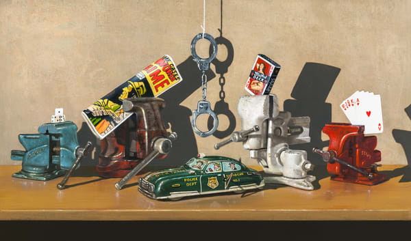 The Vice Squad Art | Richard Hall Fine Art