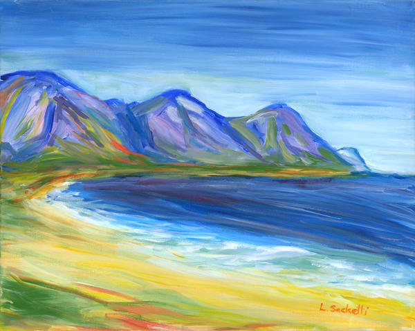 At The Beach, South Africa Art | Linda Sacketti
