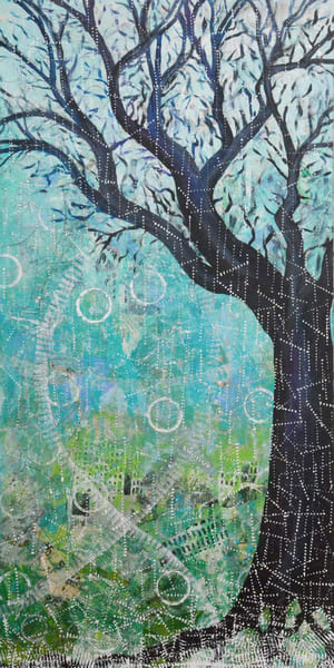 Winter Solstice, Original Artwork Art | Lynne Medsker Art & Photography, LLC