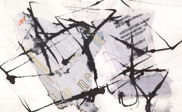 Black And White Minatures : No.18 Art | Stephanie Visser Fine Art