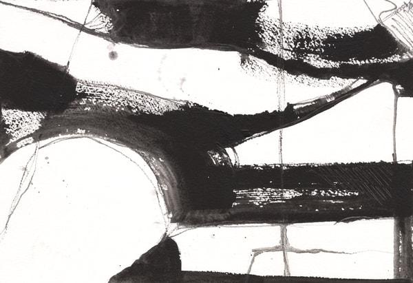 Black And White Miniatures : No. 7 Art | Stephanie Visser Fine Art