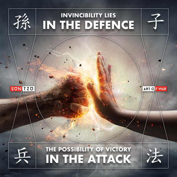 Invisibility Lies In The Defense Art | Awake Graphics, LLC