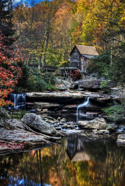 Glade Creek Grist Mill Photography Art   Ken Smith Gallery