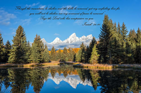 Isaiah 54:10 Photography Art | Ken Smith Gallery