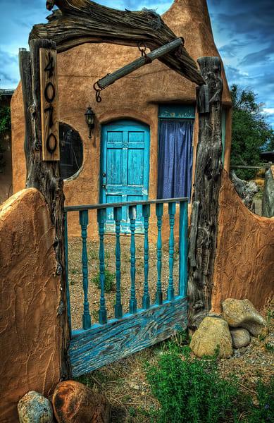 Door Behind The Gate Photography Art | Ken Smith Gallery