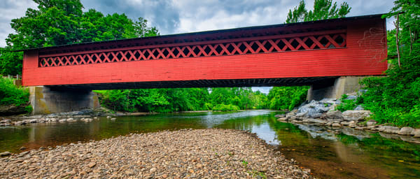 Burt Henry Covered Bridge - Vermont fine-art photography prints