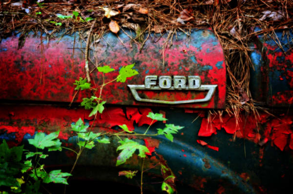 Ford Fender Photography Art | Ken Smith Gallery