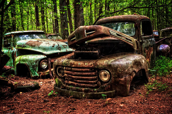 Ford Buddies Photography Art | Ken Smith Gallery