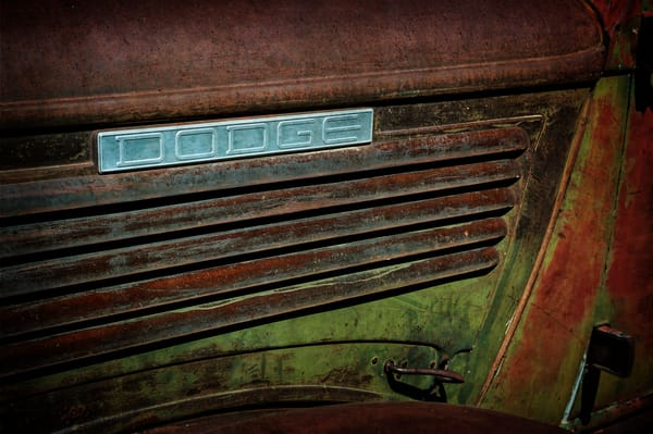 Patina Dodge Photography Art | Ken Smith Gallery