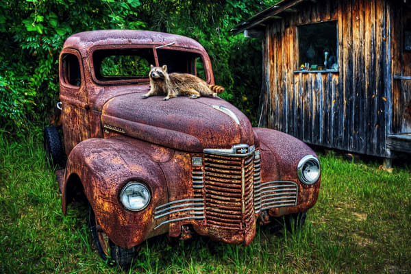 Rockys Rust Bucket Photography Art | Ken Smith Gallery