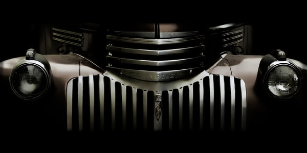 Midnight Grille Semi Panorama Photography Art | Ken Smith Gallery
