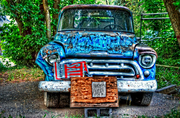 Truck And Eggs For Sale Photography Art | Ken Smith Gallery