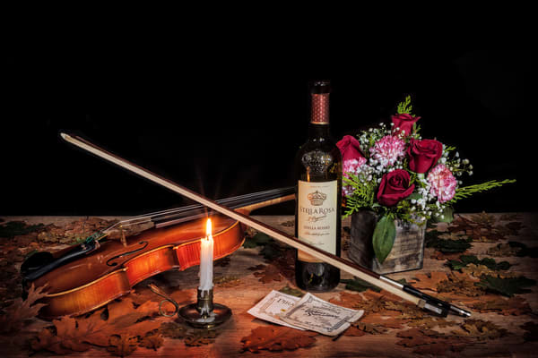 Wine Roses And Music Photography Art | Ken Smith Gallery