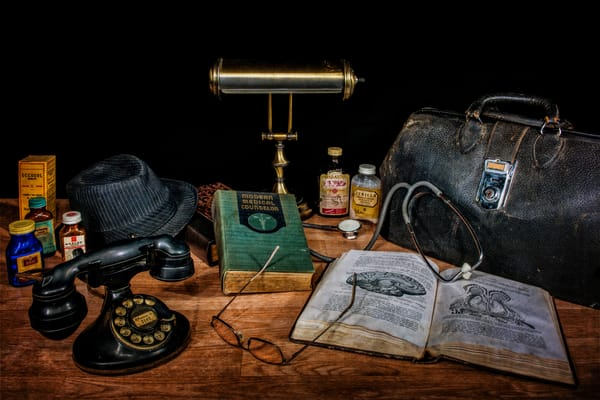 The Physician S Desk Photography Art | Ken Smith Gallery