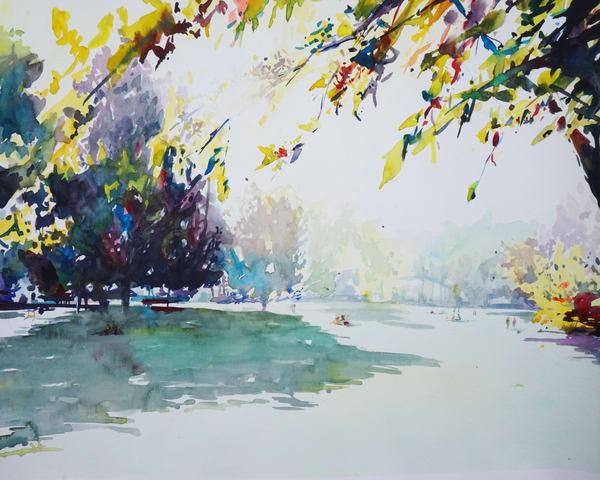 Kc Loose Park Garden 5 Art | Steven Dragan Fine Art