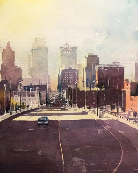 Kc Skyline 1 Art | Steven Dragan Fine Art