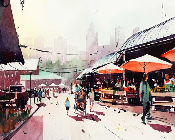Kc River Market Art | Steven Dragan Fine Art