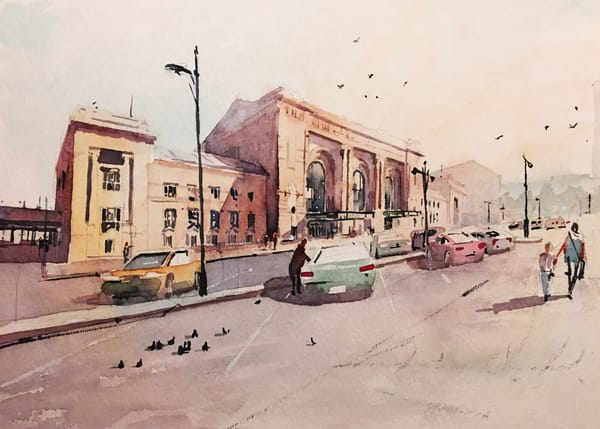 Kc Union Station Kansas City Art | Steven Dragan Fine Art