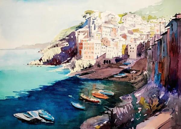 Italy Cinque Terra Art | Steven Dragan Fine Art
