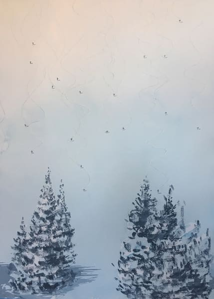 Mt Skiing 2 Art | Steven Dragan Fine Art